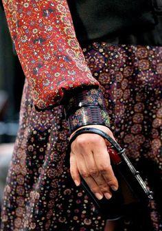 Persian Rug Patterns in Designer Fashion