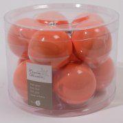 Lot de 8 boules ORANGE CANDY - Boules en verre : Izaneo.com