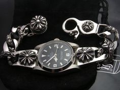 chrome hearts watch bracelet - Google Search