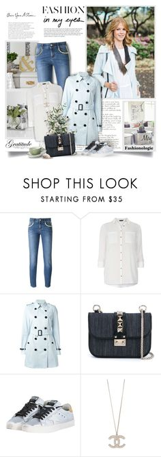 """""""Everyday Is A Fresh Start"""" by thewondersoffashion ❤ liked on Polyvore featuring STELLA McCARTNEY, Dorothy Perkins, Burberry, Valentino and Golden Goose"""