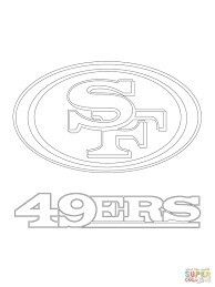 San Francisco Logo Coloring Page From NFL Category Select 30423 Printable Crafts Of Cartoons Nature Animals Bible And Many More