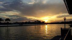 Sunset at Disneyworld, Orlando, FL, 2-3-2015