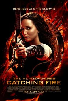 The final poster for The Hunger Games: Catching Fire.