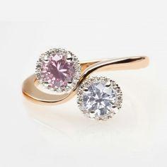 pink diamond, blue diamond