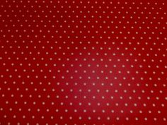 Marson Drop Red Ivory Oilcloth | Textile Express | Buy Fabric