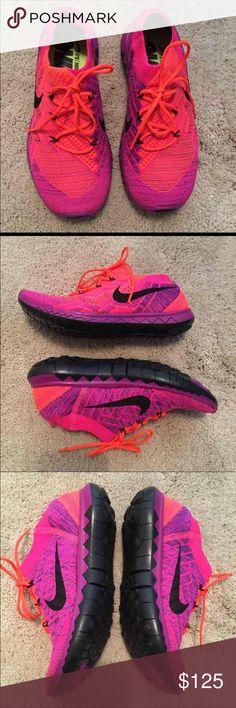 Nike Free 3.0 Flyknit. Nike Free 3.0 Flyknit...  BRAND NEW- original box no lid...  Size 5.5.                                                                                                                                              I don't trade‼️ Nike Shoes