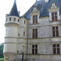 Chateau D'Azay-Le-Rideau, Tours France (Loire Valley)