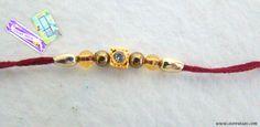 Rakhi Handmade 3 Color Choices Wrist Band Sibling by StoreUtsav
