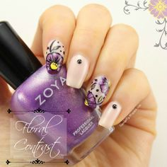 Liquid Jelly: [Nail-Art-A-Go-Go] Day 5: Contrast