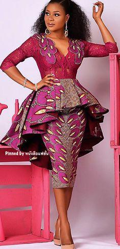 African Print/ Ankara Blouse and Skirt/ African Clothing/ Ankara Print Leyinwa Couture - Ankara Blouse and Skirt . African Fashion Ankara, African Inspired Fashion, Latest African Fashion Dresses, African Dresses For Women, African Print Dresses, African Print Fashion, Africa Fashion, African Attire, African Prints
