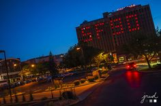 #Photography Night Shot State Farm - 90 Years Strong