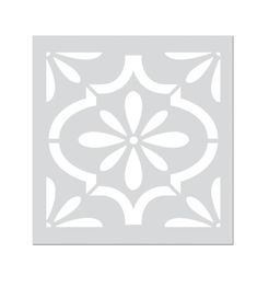 Painting Tile Floors, Stencil Painting On Walls, Painted Floors, Modern Style Homes, Decorative Tile, Tile Design, Stencils, Flooring, Crafts