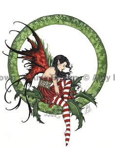 Fairy Art Artist Amy Brown: The Official Online Gallery. Fantasy Art, Faery Art, Dragons, and Magical Things Await. Amy Brown Fairies, Elves And Fairies, Dark Fairies, Fantasy Kunst, Fantasy Art, Dragons, Elfen Fantasy, Winter Fairy, Fairy Pictures