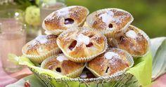 Läckra rabarberbullar med vaniljfyllning recept