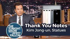 Thank You Notes: Kim Jong-un, Statues