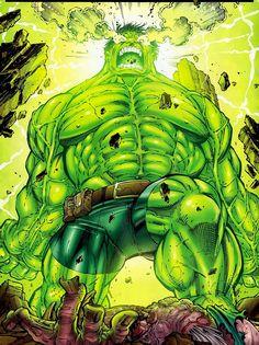 #Hulk #Fan #Art. (World War Hulk) By: Paul Pelletier. [THANK U 4 PINNING!!]