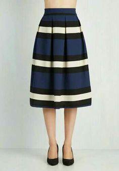 Demure galore skirt