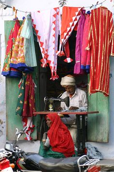 The village tailor, India