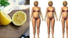 Voici comment utiliser le citron pour réduire votre taille et vous débarrasser de la graisse au niveau de l'estomac très rapidement !