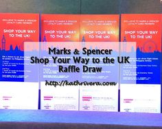 Marks & Spencer Shop Your Way to the UK Raffle Draw | Dear Kitty Kittie Kath- Beauty, Fashion, Lifestyle, and Mommy Blog