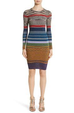Main Image - Missoni Stripe Space Dye Knit Dress Dress Clothes For Women, Dresses For Work, Nordstrom Dresses, Missoni, Knit Dress, Dresses Online, Stripes, Knitting, Womens Fashion