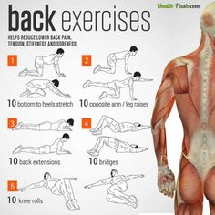 5 Simple Yet Effective Back Pain Relief Exercises