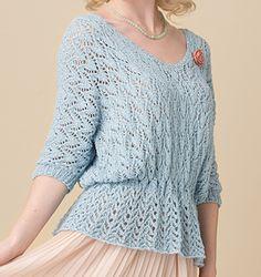 Ravelry: Sea Holly pattern by Jennie Atkinson