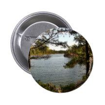 St Joseph Island fishing Spot 2 Inch Round Button