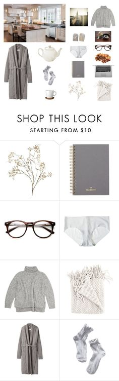 """""""Sans titre #141"""" by ghei on Polyvore featuring Pier 1 Imports, Mulberry, Chandelier, Commando, Vanessa Bruno Athé, Christian Wijnants and Höganäs Ceramic"""