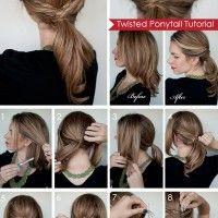Hair Romance twisted ponytail tutorial 200x200 DIY Hair Tutorials, Amazing Hair Designs 2014 2015