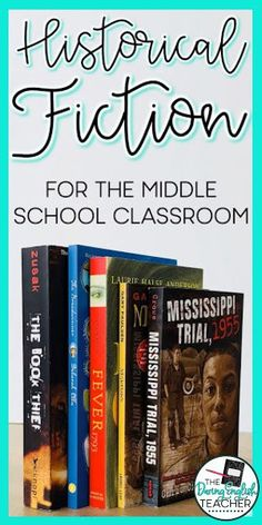 Historical Fiction for the Middle School Classroom - Fashionhome Middle School Novels, Middle School Hacks, Middle School Libraries, Middle School History, Middle School Reading, Middle School English, Middle School Classroom, High School, School Ideas