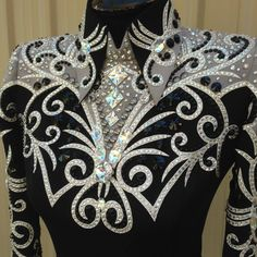 Lindsey James why are your designs so pretty Western Show Shirts, Western Show Clothes, Horse Show Clothes, Western Outfits, Western Wear, Dance Outfits, Dance Dresses, Chemises Country, Showmanship Jacket