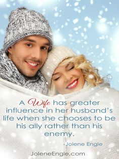 Choose to be a supportive wife!