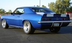 1969 Chevrolet Camaro Z28 Coupe - my husbands favorite classic car...he wishes he had never sold his - just like this one.