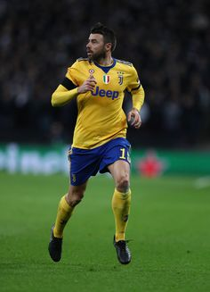 Miralem Pjanic of Juventus during the UEFA Champions League Round of 16 Second Leg match between Tottenham Hotspur and Juventus at Wembley Stadium on March 7, 2018 in London, United Kingdom. - 174 of 209