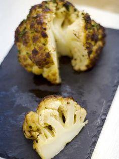 Photo 2 de recette Chou-fleur rôti au four - Marmiton