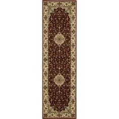 Nourison Persian Arts Neolithic Brick 2 ft. 3 in. x 12 ft. Runner  on  Daily Rug Deals