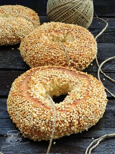 Sweets Recipes, Cooking Recipes, Pastry And Bakery, Middle Eastern Recipes, Sweet Cakes, Bagel, Food And Drink, Bread, Tutorials