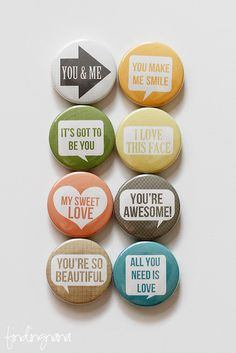 Bubble Quote Flair Button by findingnana on Etsy Dollar Store Crafts, Dollar Stores, Bubble Quotes, Bottle Cap Art, Button Badge, Pin Button, Crafts To Do, Diy Crafts, Paper Packaging