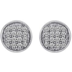 JewelonFire Sterling Silver 1/10ct or 1/5ct TDW Diamond Earrings (3.155 RUB) ❤ liked on Polyvore featuring jewelry, earrings, white, white stud earrings, diamond jewelry, butterfly earrings, diamond butterfly earrings and sterling silver butterfly earrings
