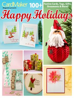 Card Paper Crafts - Happy Holidays - #701074