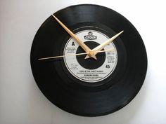 "Bananarama- love in the first degree    7""  vinyl record clock  £6.99"