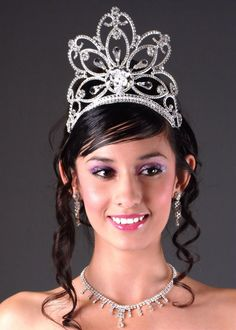 """Quinceanera Mall - 5"""" Butterfly Tiara"""