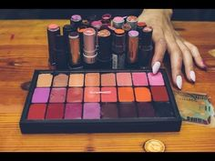 ▶ DIY: Depot Lipstick Into MAC Palette - YouTube