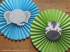 Fun animal faces as online class props. Jungle Party, Jungle Theme Birthday, Safari Birthday Party, Animal Birthday, 1st Boy Birthday, 2nd Birthday Parties, Baby Shower Themes, Baby Boy Shower, Baby Showers