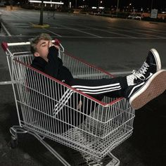 I kinda want a shopping cart tattoo but im not confident enough about it yet - maybe when i get to the point in my life where when people say i look stupid or thats stupid i wont take that in.