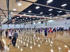 Our Dodgeball Tournament during Shamrock philanthropy Week was a success! Kappa Delta, Basketball Court, Success