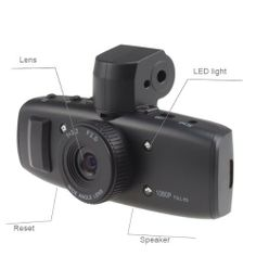 "GS1000 FULL HD 1080P 1.5 LCD Display 5MP Car Cam Recorder DVR With GPS Gsensor Google Map, Extend to 32GB TF Card by BrainyTrade. $100.99. Specification LCD Display: 1.5"" TFT LCD(4:3 TFT LCD) Camera Lens: 120 degree wide angle, 4 fixed focus Lens, aperture 2.0, focus 3.4mm Sensor: 5M CMOS Sensor,1/2.5"" light-sensing surface area Zoom: 4×digital zoom Video Resolution: H.264 compressed format 1920×1080, 30 frame/sec 1440×1080, 30 frame/sec 1280×720, 30 fr..."