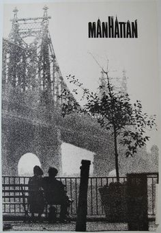 Manhattan 1979 $200 20.25x28.75in PosterMuseum.com by Philip Williams Posters NYC