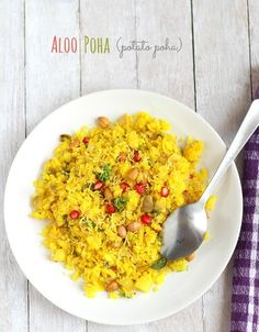 Gujarati Aloo Poha Recipe, Batata Poha | How to make Potato Poha